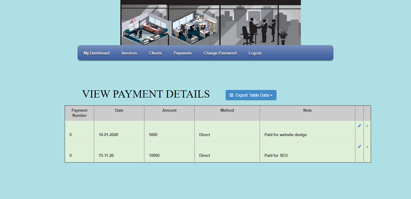 View Payment